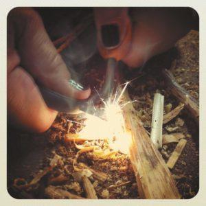 feu de survie